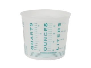 Mixing Container - Clear (2.5 Quart)