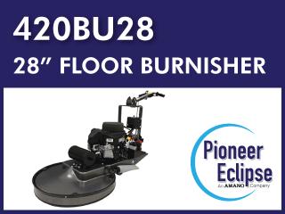 420BU28┃Customizable Floor Burnisher