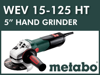 "5"" Hand Grinder┃Kit Options"