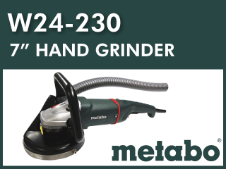 "7"" Hand Grinder┃Kit Options"