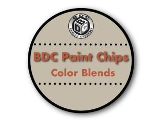 BDC Paint Chips┃Color Blends