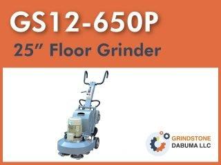 GS12-650P┃Floor Grinder
