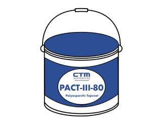 PACT-III-80┃Polyasparctic Top Coat