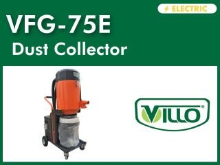 VFG-75E┃Three Phase Dust Extractor