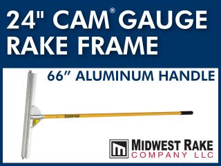 Gauge Rake Frame with Handle
