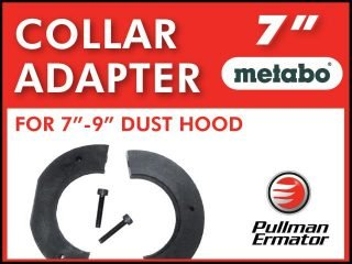 """Collar Adapter for 7"""" Metabo"""