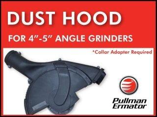 "Dust Hood for 4-5"" Angle Grinder"