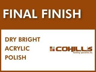 Cohills® Final Finish┃Non-Toxic Acrylic Floor Polish