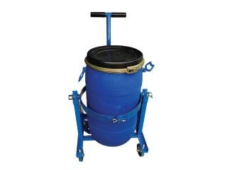 Mixing Barrel Cart