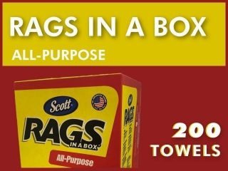 Scott® Rags-in-a-Box