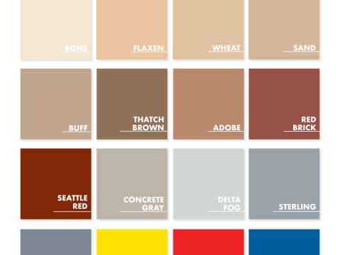 Standard & Safety Pigment Packs