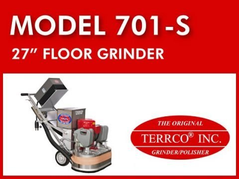 "Model 701-S┃27"" Rotary Grinder"