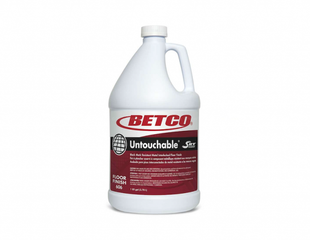 Betco® Untouchable®┃Floor Finish with SRT (Scuff Resistant Technology™)